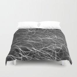 Black & White Glitter 1612 Duvet Cover