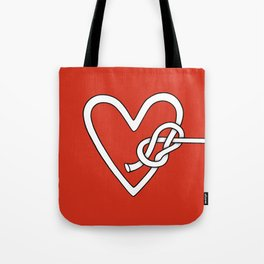 love me knot Tote Bag