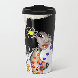 Madalena - La Flaca Metal Travel Mug