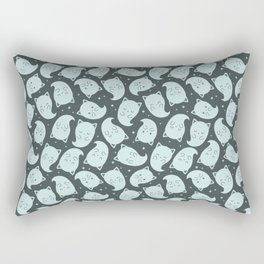 Ghost Kitties Rectangular Pillow