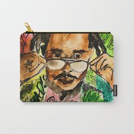 poppy,dancehall,reggae,music,lyrics,poster,jamaica,unruly,wall art Carry-All Pouch