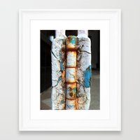 key Framed Art Prints featuring key by Zombling
