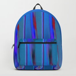 The blue fence Backpack