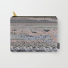 Romantic Stitches Carry-All Pouch