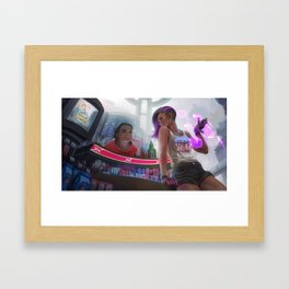 Sakuna Kawama: Sombra Framed Art Print