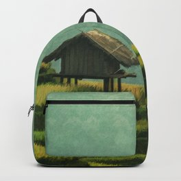 CHINA Travel Poster Vintage Style Backpack