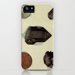 Quartz Minerals iPhone Case