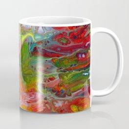 Mulicolor Lava Flow Cells Coffee Mug