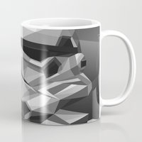 stormtrooper Mugs featuring Stormtrooper by Filip Peraić