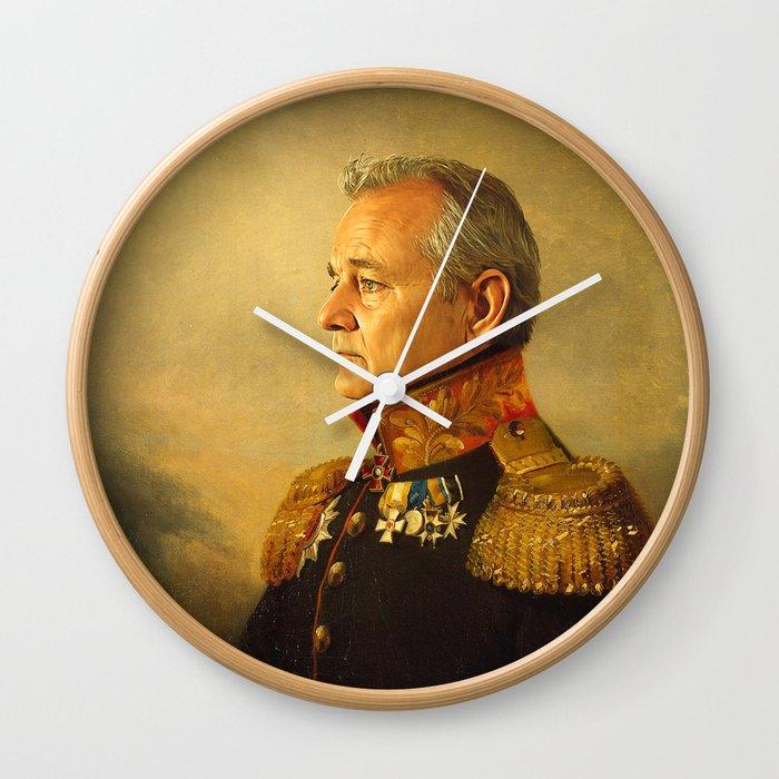 Bill Murray - replaceface Wall Clock