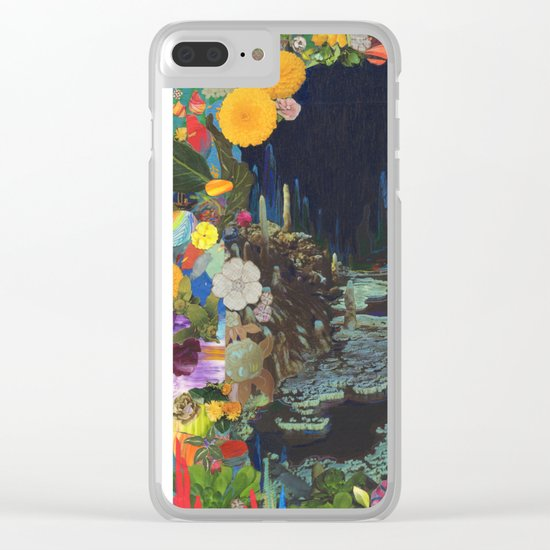 Cave Garden II Clear iPhone Case