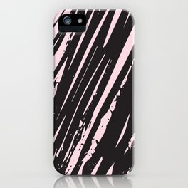 I spilled my chocolate! /geometric series iPhone Case