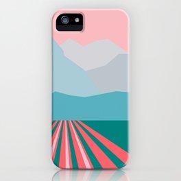 Farming Alaska iPhone Case