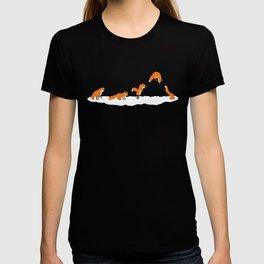 The jumping fox T-shirt