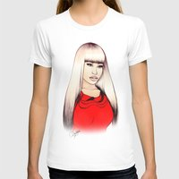 barbie T-shirts featuring American Barbie by Tiko Meow