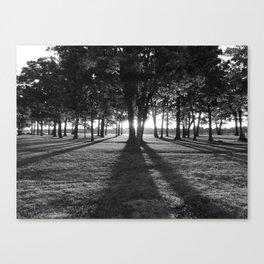 The Dark of Dawn Canvas Print