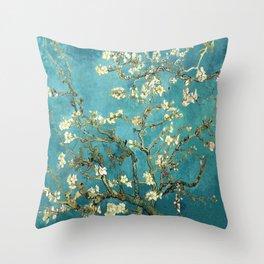 HD Vincent Van Gogh Almond Blossoms Throw Pillow