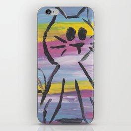 Rainbow Kitty iPhone Skin