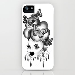 Carmen Miranda Butterflies  iPhone Case