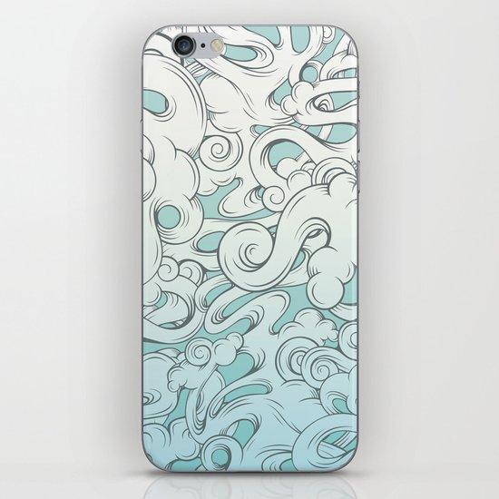 Entangled Clouds iPhone & iPod Skin