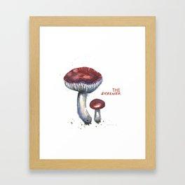 The Sickener Mushroom Framed Art Print