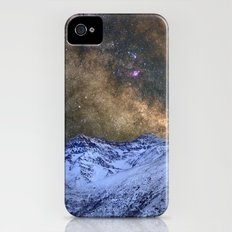 The milky way over the high mountains iPhone (4, 4s) Slim Case