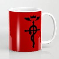 fullmetal Mugs featuring Alchemy by KanaHyde