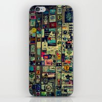 sticker iPhone & iPod Skins featuring sticker by gzm_guvenc