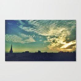 Charleston Skies Canvas Print