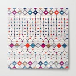 N9 - Modern Traditional Moroccan Artwork. Metal Print