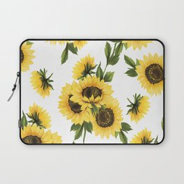 Lovely Sunflower Laptop Sleeve