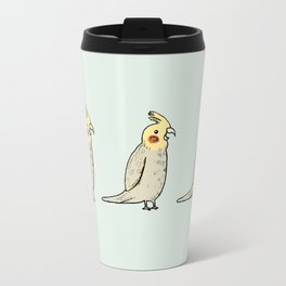 Happy Cockatiel Travel Mug