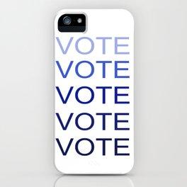 VOTE VOTE VOTE VOTE VOTE iPhone Case