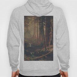 Albert Bierstadt - Giant Redwood Trees of California (1874) Hoody