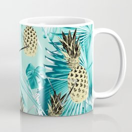 Tropical Pineapple Jungle Geo #3 #tropical #summer #decor #art #society6 Coffee Mug