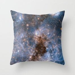GALACTICAL STORM Throw Pillow