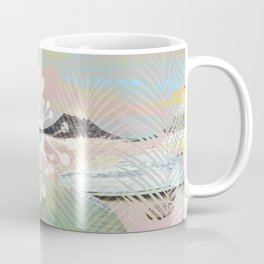 BOATS INTO A SURREAL GRAPHIC WORLD Coffee Mug