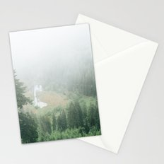 Black Forest - Germany | schwarzwald - landscape - nature - trees - fog - travel - print - europe Stationery Cards