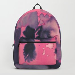 watercolor waves COLLAB DYLAN SILVA Backpack