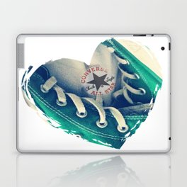 Converse Love in White Laptop & iPad Skin
