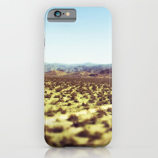 Joshua Tree Panorama III iPhone & iPod Case