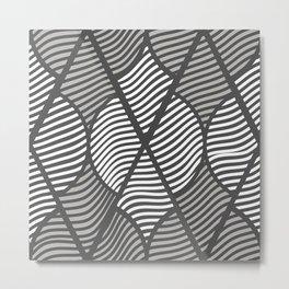 Indie in Grey Metal Print