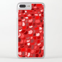 Red Wine Date Clear iPhone Case