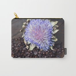 Coffeebeans & Artichoke Carry-All Pouch