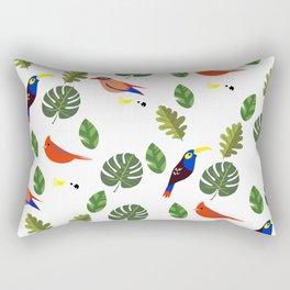 Springtime - First Birds of Spring Rectangular Pillow