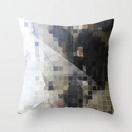 Extractions Throw Pillow
