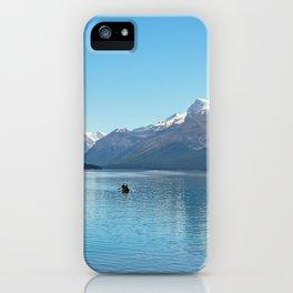Serenity at Lake Maligne iPhone Case