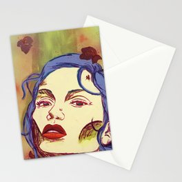 The Rose Woman Stationery Cards