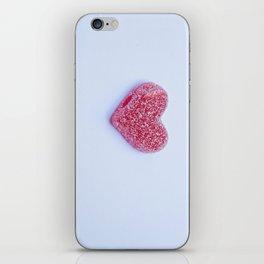 Candy heart iPhone Skin