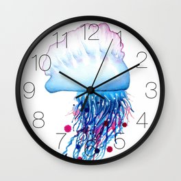 Manowar Jellyfish Wall Clock